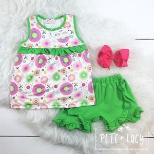 Pete and Lucy short set sz5